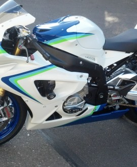 2013 BMW Race Bike Custom Paint