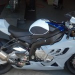 2013 BMW Race Bike Custom Body Paint